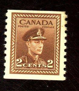 Canada #279 MINT FVF OG NH Cat$22.50