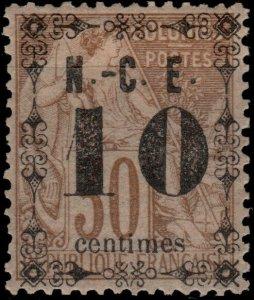 NOUVELLE-CALÉDONIE - N°12 10c/30c Alphée Dubois Neuf* TB (ref.00852c)