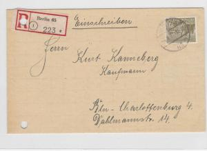 German Postal History Stamps Cover Ref: R4600