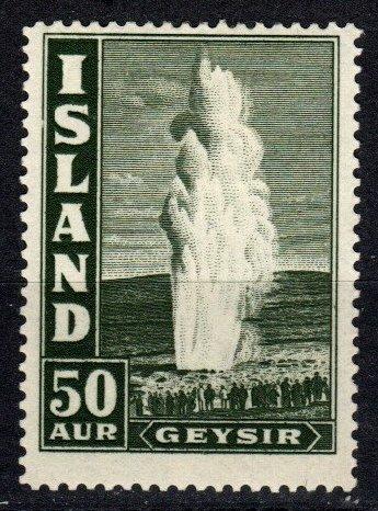 Iceland #208 F-VF Unused  CV $21.00 (P662)