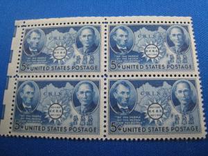 U.S. SCOTT #906 - 5 BLOCKS of 4 - MNH