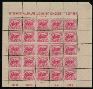 MALACK 630 VF/XF OG NH, wonderfully fresh sheet and ..MORE.. w8704