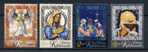 Tokelau 2017 MNH Christmas Nativity Mary Baby Jesus Angels 4v Set Stamps