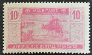 DYNAMITE Stamps: Mauritania Scott #23 – MINT hr