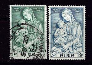 Ireland 151-52 Used 1954 set
