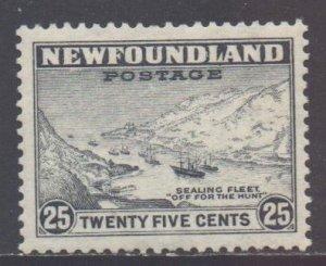 Canada Newfoundland Scott 197 - SG219, 1932 George V 25c MH*