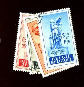 Belgium #B455 Used F-VF Cat $10