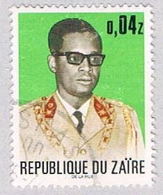 Zaire 776 Used Mobutu 1972 (BP38620)