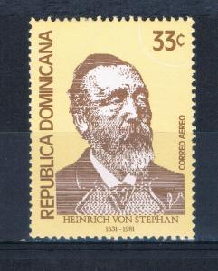 Dominican Republic C334 MNH Heinrich von Stephan (D0154)