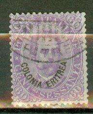 C: Eritrea 9 used CV $72.50