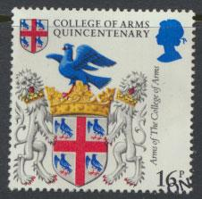 GB SG 1236 SC# 1040 - Used First Day Cancel - College of Arms
