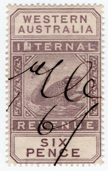 (I.B) Australia - Western Australia Revenue : Internal Revenue 6d (1899)