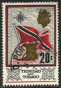 Trinidad & Tobago 1969 Scott# 152 Used