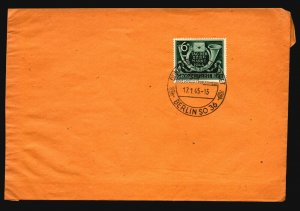 Germany 1944 Briemark Series on 1945 Cover - Z16758
