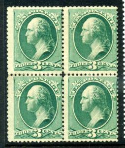Scott #147 Washington Unused  Block (Stock #147-4)