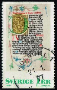 Sweden #1192 Prayer Book; Used (0.25)
