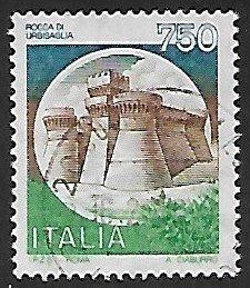 Italy # 1659 - Rocca di Urbisaglia - used.....{BRN12}