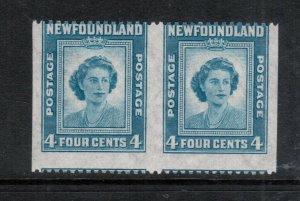 Newfoundland #269b Mint Fine Never Hinged Imperf Pair