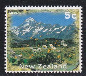 New Zealand  # 1345, Mt. Cook, Mint NH,