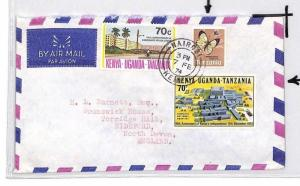 CE165 Kenya *NAIROBI* 1974 KUT Stamp Air Mail Cover