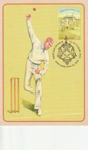 #1301-2 Australia Mint Maxicards - Cricket