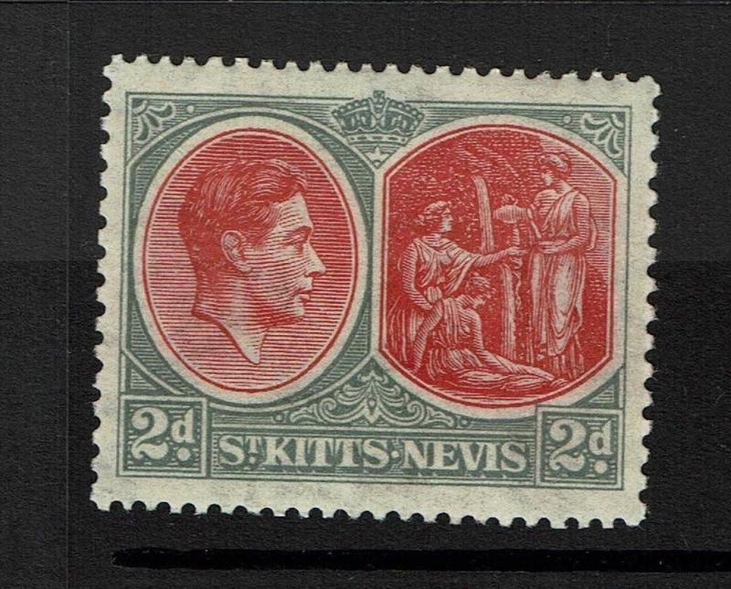 St. Kitts-Nevis SG# 71, Mint Lightly Hinged - Lot 082317
