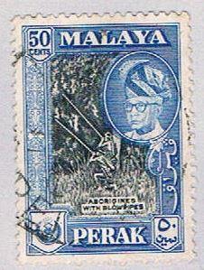 Malaya Perak 134 Used Sultan Yussaf Shah (BP22714)
