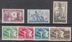 French Colonies B2-8 Mint NH