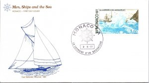 Monaco, Worldwide First Day Cover, Ships