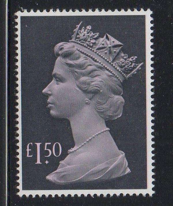 Great Britain Sc MH173 1986 £1.50  Machin Head stamp mint NH