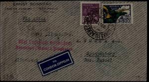 Brazil Zeppelin cover 18.10.34