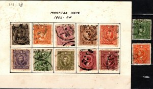 China #312-23 Used Martyrs Issue (X5577L)