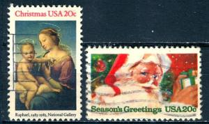 U.S.A.; 1983: Sc. # 2063-2064: O/Used Cpl. Set