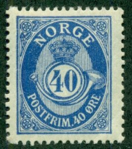 NORWAY #93, Mint Hinged, Scott $24.00