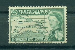 St. Kitts & Nevis sc# 136 used cat value $.60