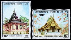 Laos Scott C65-C66 (1970) Mint NH VF W