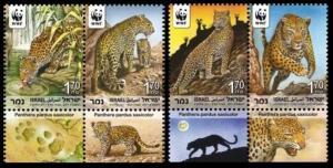 2011 Israel 2189-2192 WWF -Leopard