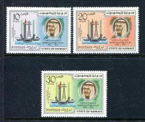 Kuwait 620-622, MNH, Industrial Area 1974. x29967