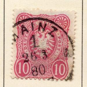 Germany 1875-80 Early Issue Fine Used 10pf. 151482