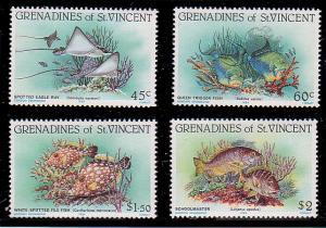 St. Vincent Grenadines 399 - 402 MNH