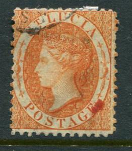 St Lucia #10a Used Accepting Best Offer