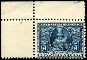 momen: US Stamps #330 Mint OG NH F/VF
