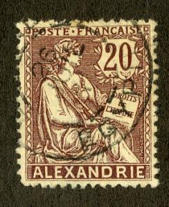 FRENCH OFFICE ABROAD ALEXANDRIA 23 USED SCV $1.50 BIN $0.60 PEOPLE