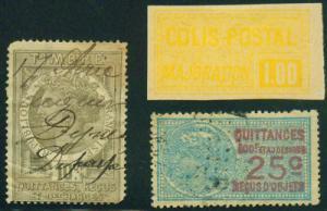 FRANCE Revenue Stamps