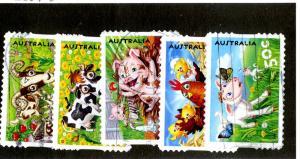 AUSTRALIA 2427-31 USED SCV $4.75 BIN $1.60