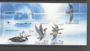 BIRDS - FINLAND #925a   MNH