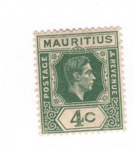 Mauritius #213 MH - Stamp CAT VALUE $3.25