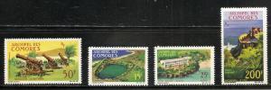 Comoro Islands 67-8 C18-9 1996 Views set MNH