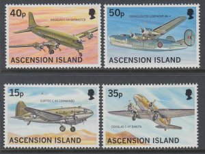 Ascension 715-718 Airplanes MNH VF