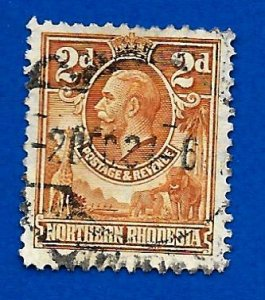 Northern Rhodesia 1925 - U - Scott #4 *